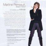 Magazine Sofa déco - L'envers du décor Martine Perreault